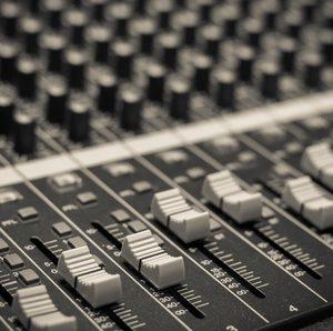 41518271 – closeup audio mixer